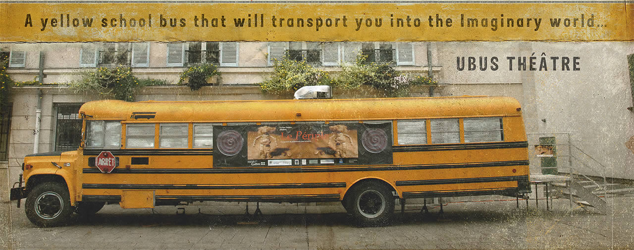 a travelling theater / photo Christopher Manquillet